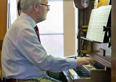 Arie de Bruijn 50 jaar organist